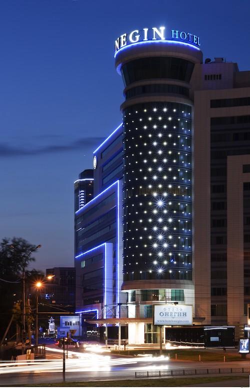 фасад отель онегин
